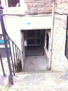 Entrance to The Wellbeing Studio