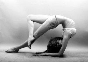 back-bend