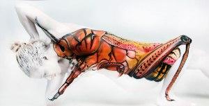 Human Locust by Gesine Marwedel