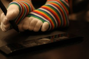 Toe Socks by Sock Dragon18-d4nflf4