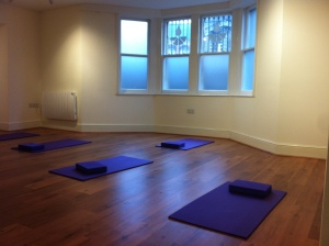 Inside the teaching room at The Wellbeing Studio