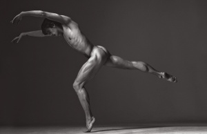 Sergei Polunin in Zoo Magazine photo shoot