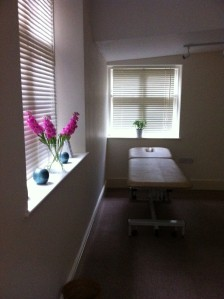 The Wellbeing Studio therapy room