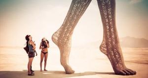 Burning Man Festival Marco Cochrane sculpture