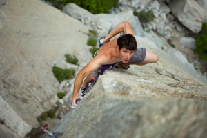 Alex Honnold free soloing