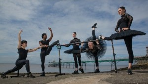 Ballet Central on Clevedon Pier