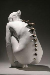 Spine statue