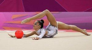 Jana Berezko-Marggrander, Olympics, ryhtmic gymnastics ball routine
