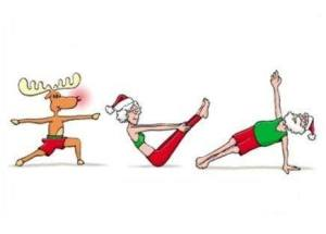 Pilates at Christmas
