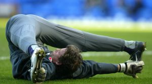 Flexible footballer