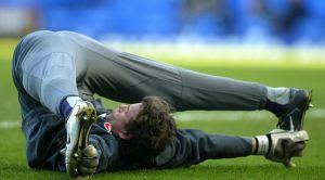 Flexible footballer