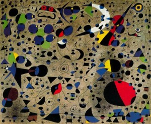 The Poetess by Joan Miro