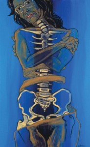 Helen Redman's painting Singing the Bones