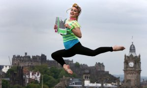 Edinburgh Fringe Acrobat